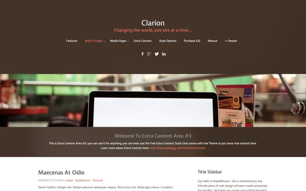 Clarion screenshot