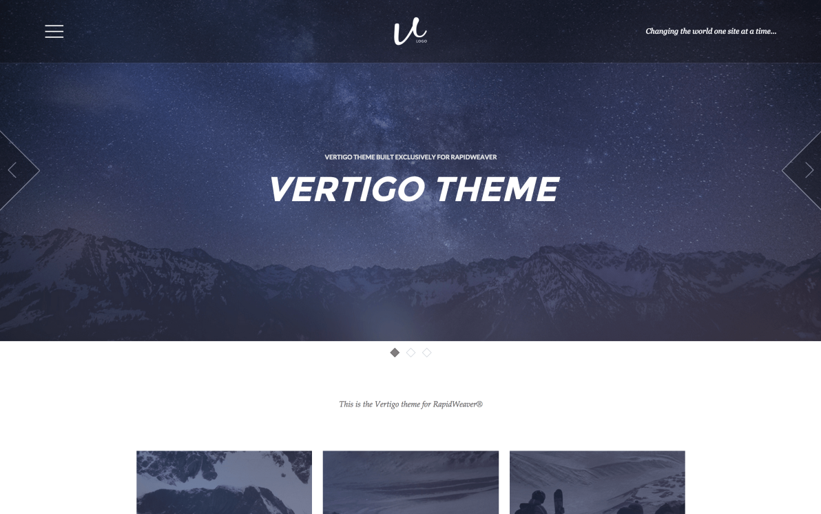 Vertigo screenshot