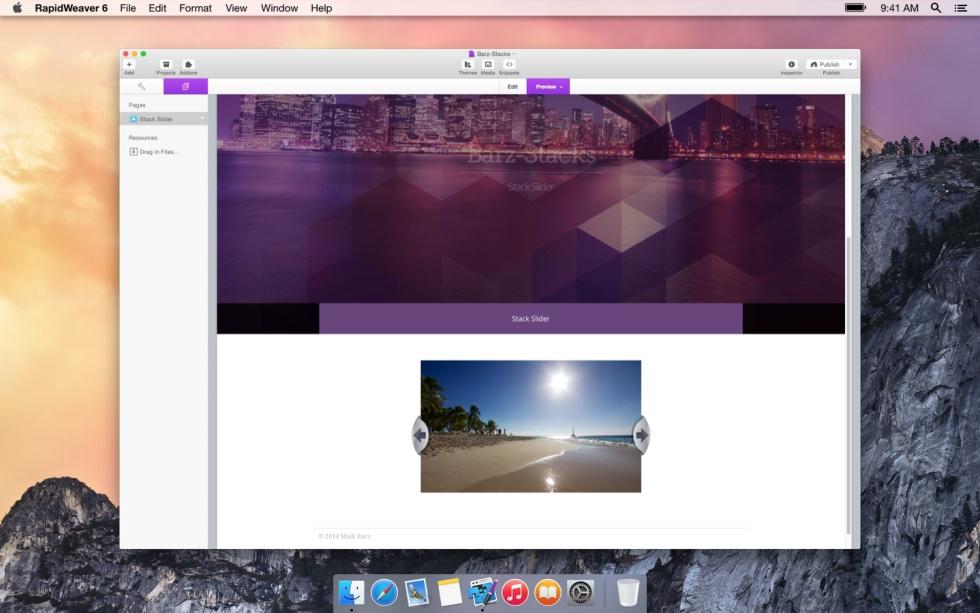 Stack Slider screenshot