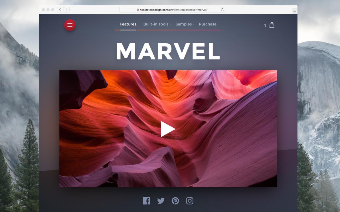 Marvel screenshot