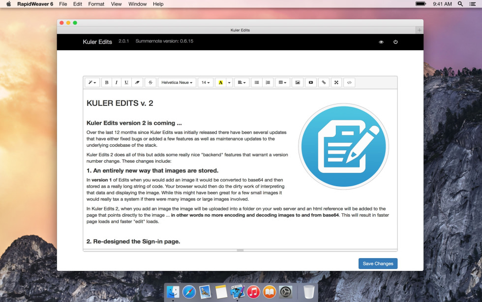 Kuler Edits 2.0 screenshot