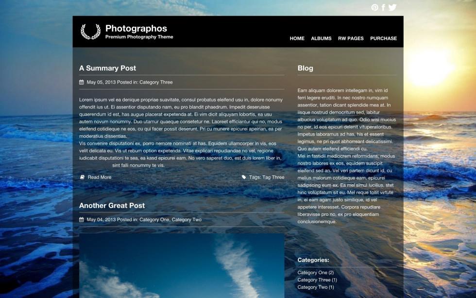 Photographos screenshot