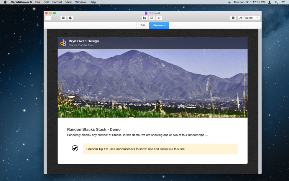 RandomStacks Stack screenshot