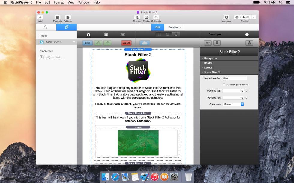 Stack Filter 2 screenshot