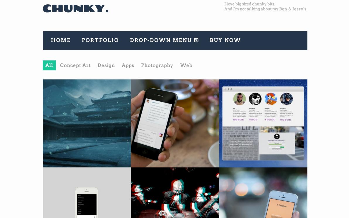 Chunky screenshot