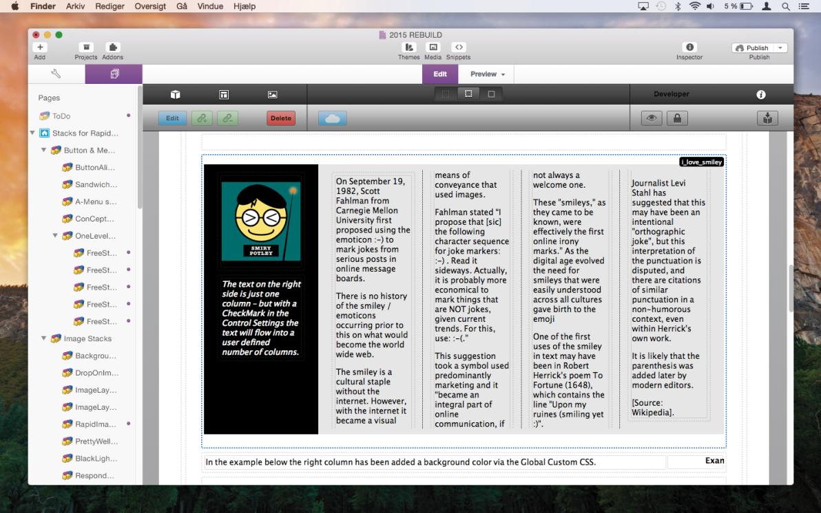 SideCar Stack screenshot