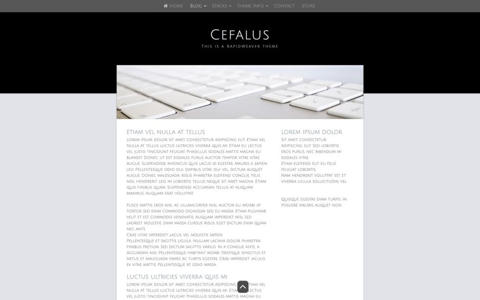 Cefalus screenshot