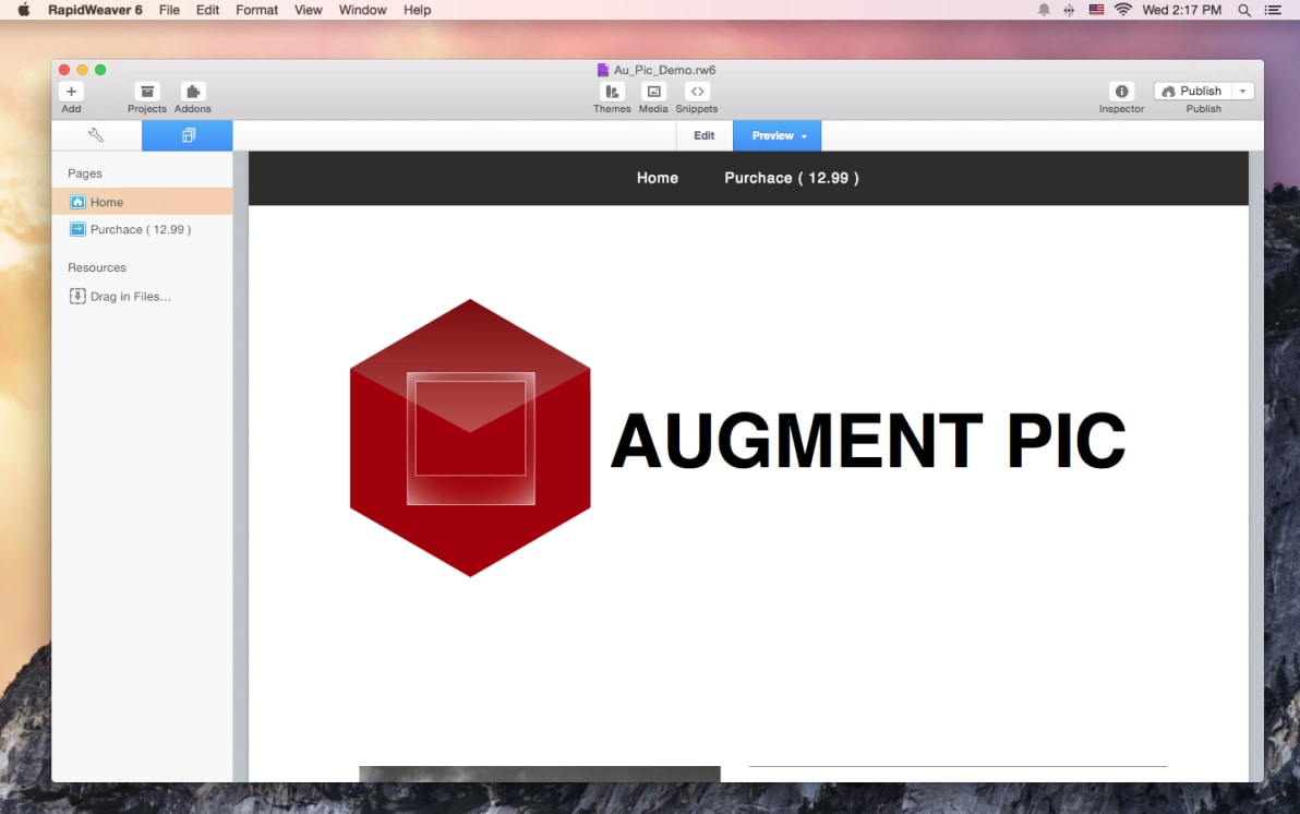 Augment Pic screenshot
