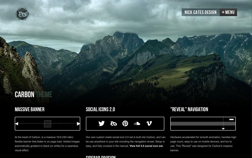 Carbon screenshot