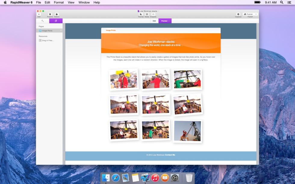 Prints screenshot