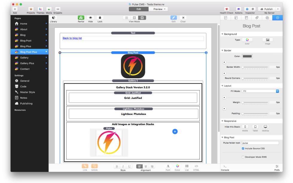 Pulse Starter screenshot