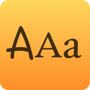 Typography icon