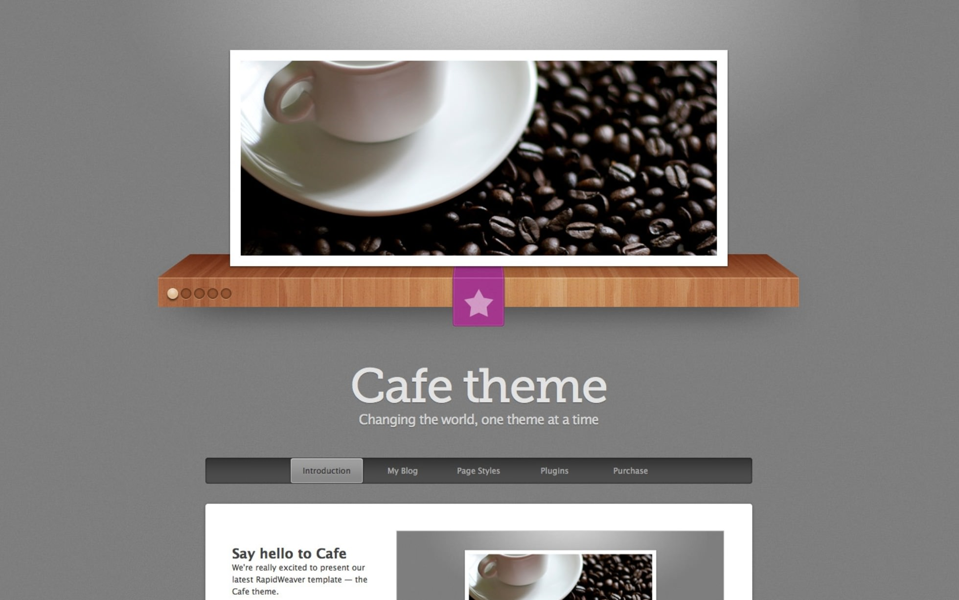 Cafe screenshot