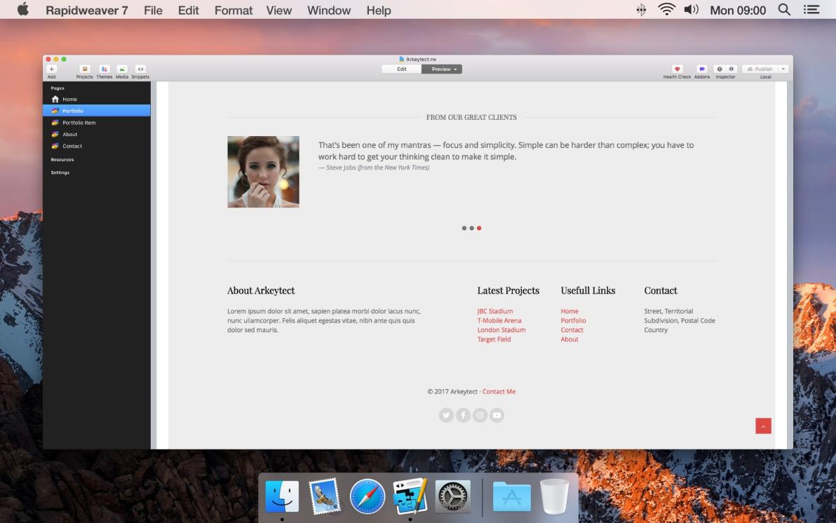 Arkeytect screenshot