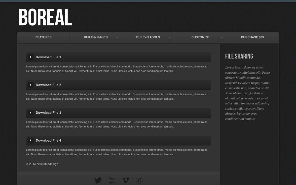 Boreal screenshot