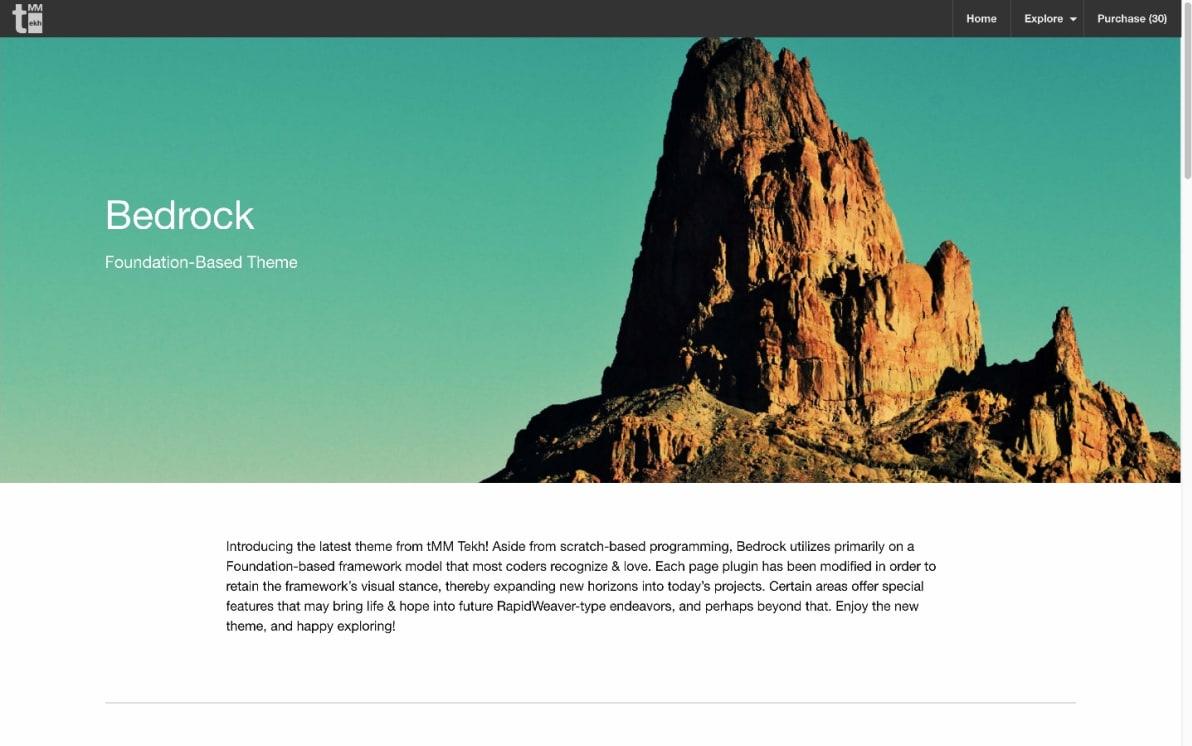 Bedrock screenshot