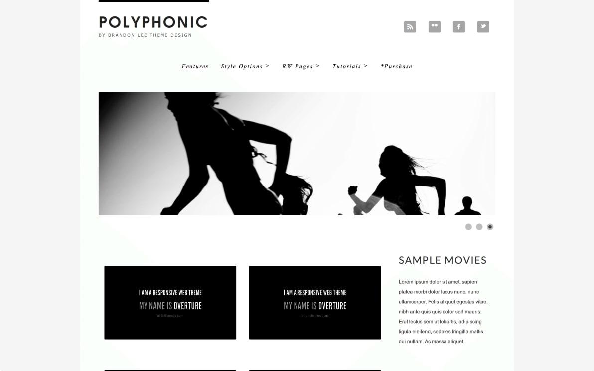 Polyphonic screenshot