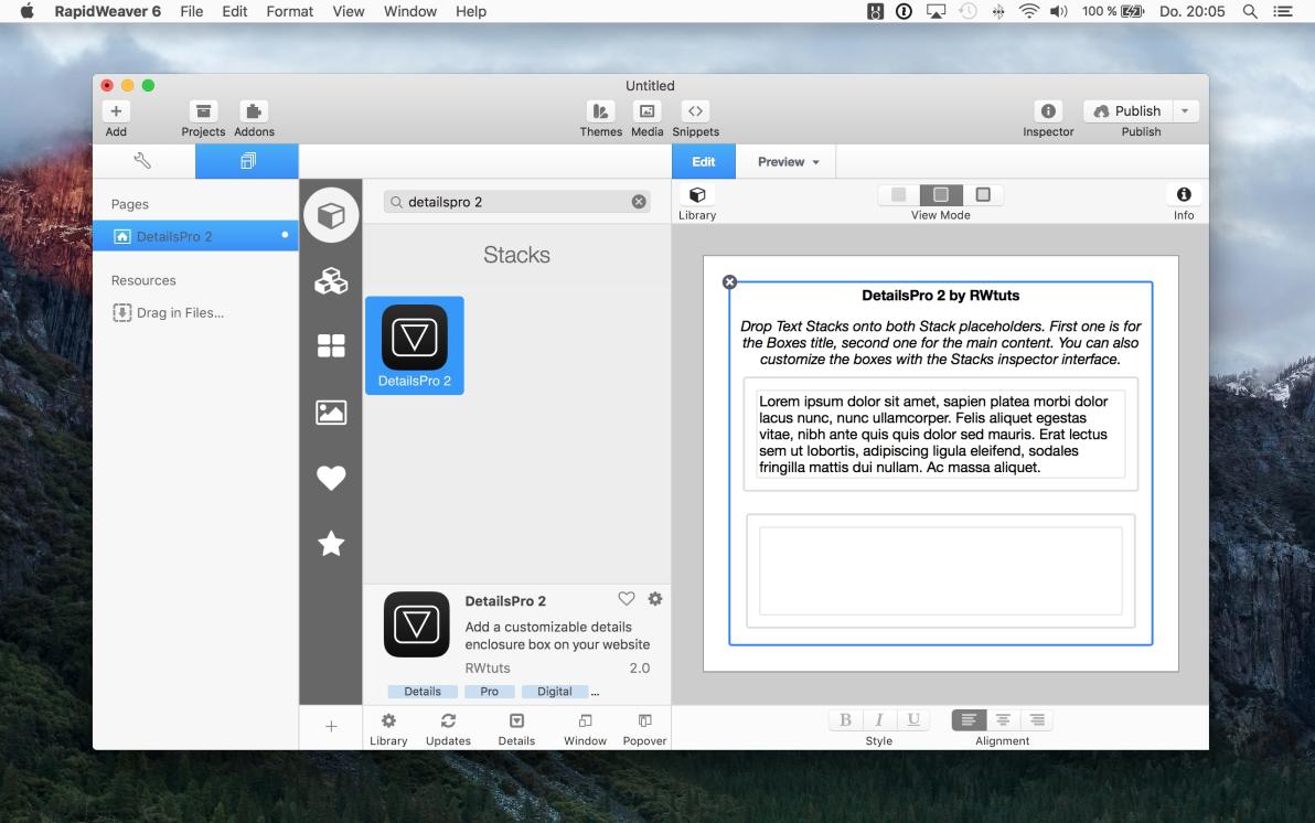 DetailsPro 2 screenshot