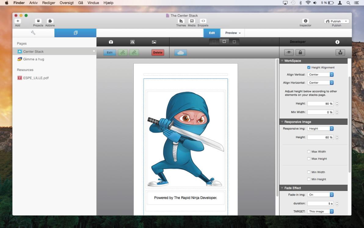 Center Stack screenshot