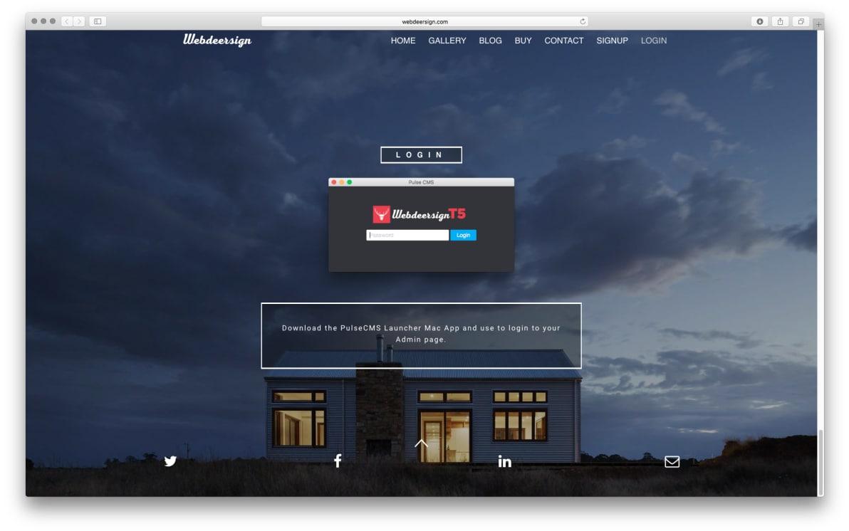 WDS Template 5 screenshot