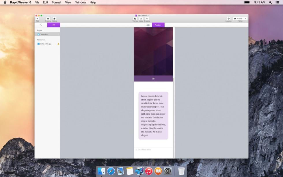 Transbox screenshot