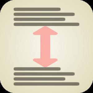 LineBreakHeight Stack icon