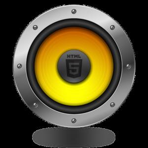 HTML5 Audio icon