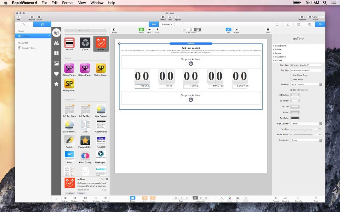 onTime screenshot