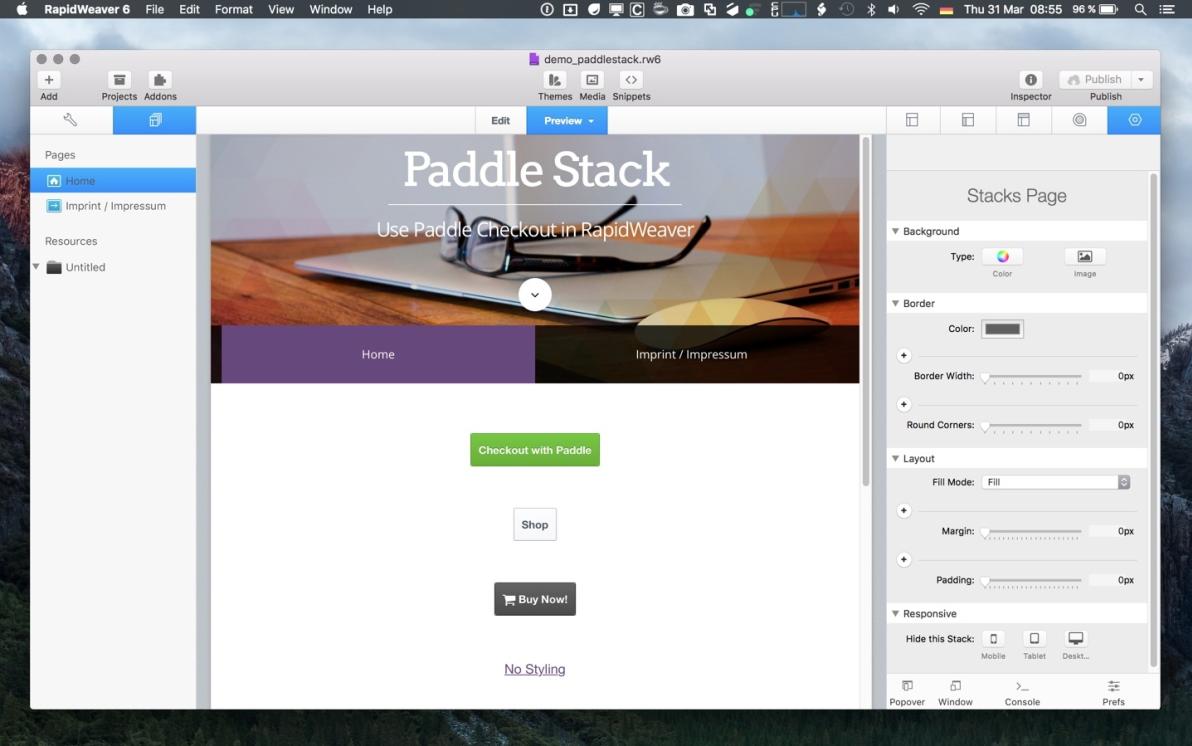 Paddle Stack screenshot