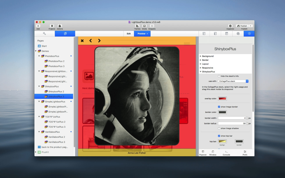 ShinyboxPlus Stack screenshot