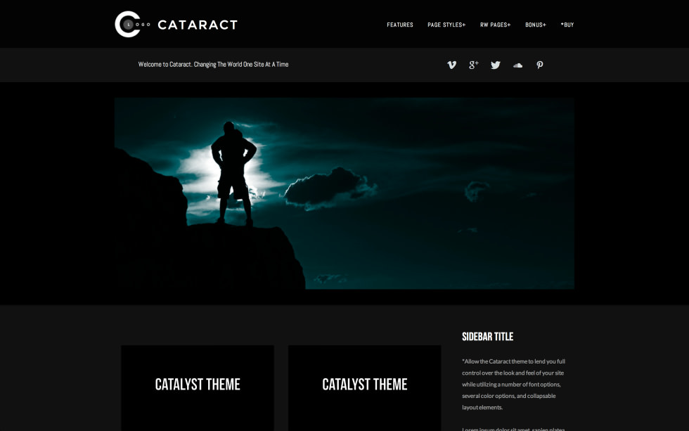 Cataract screenshot
