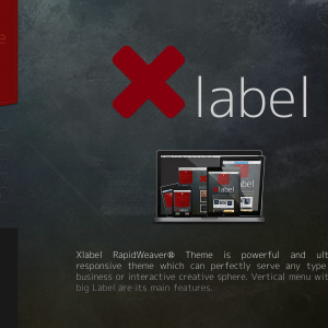 Xlabel icon