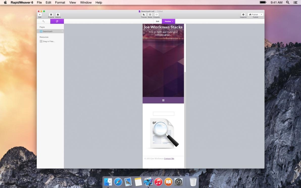 Searchpath screenshot