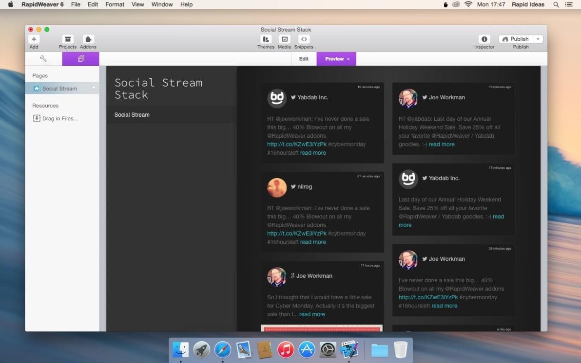 Social Stream screenshot