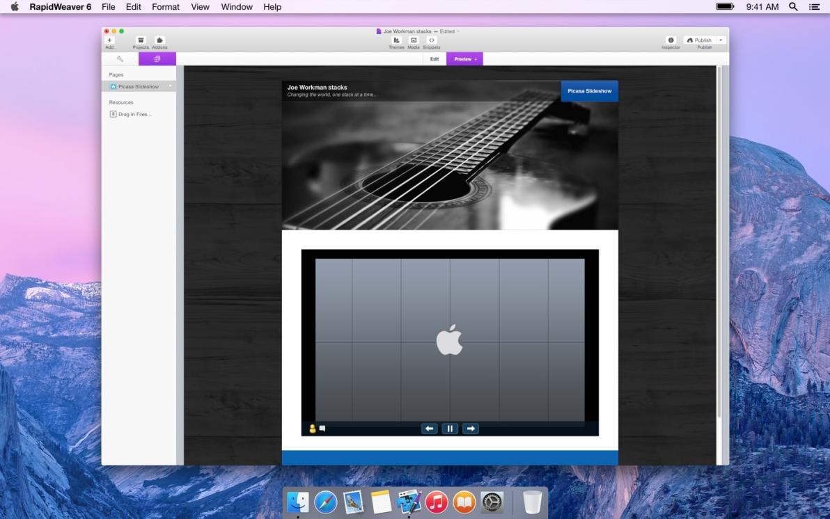 Picasa Slideshow screenshot