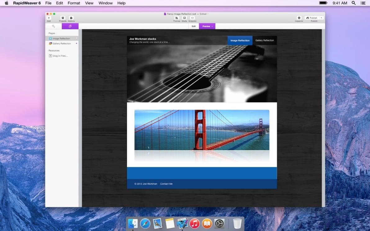 Reflection screenshot