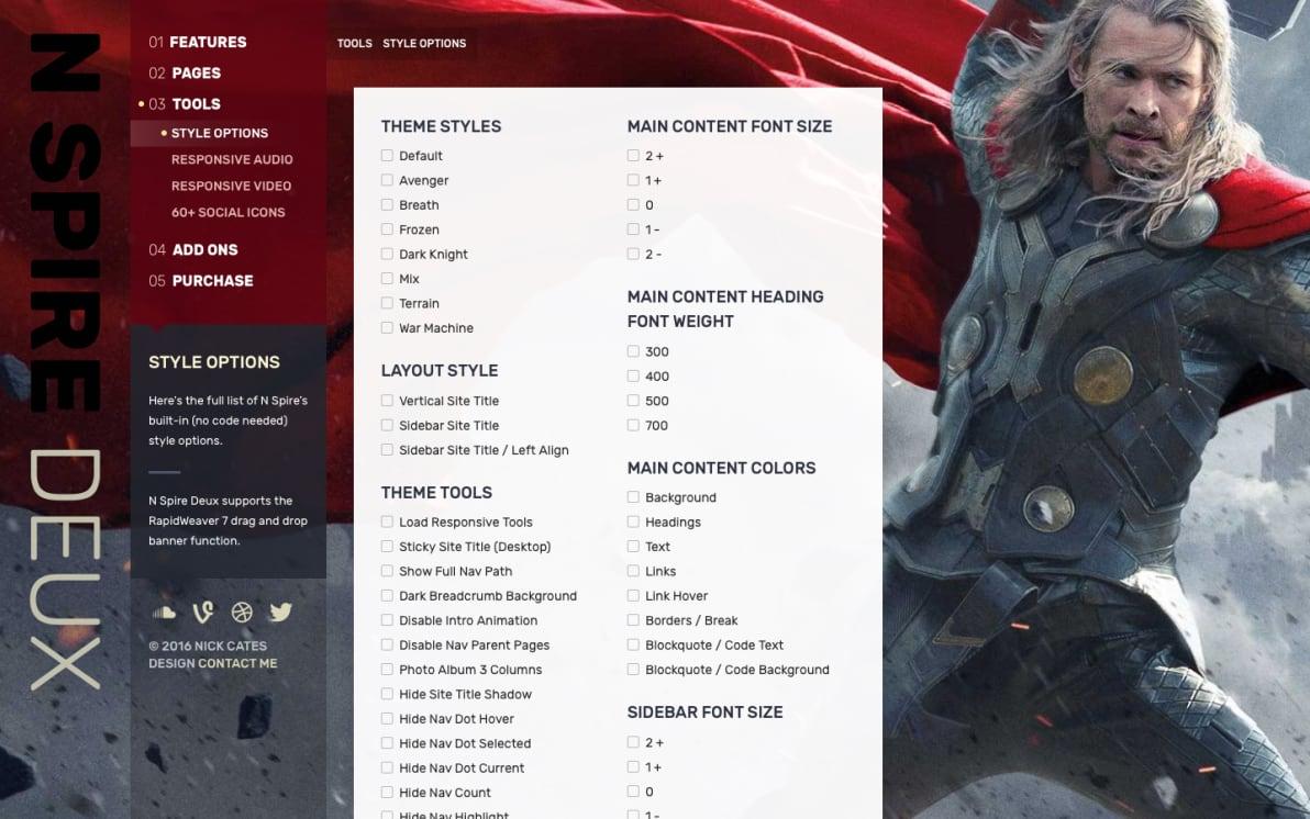 N Spire Deux screenshot