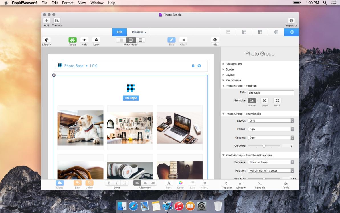 Photo screenshot