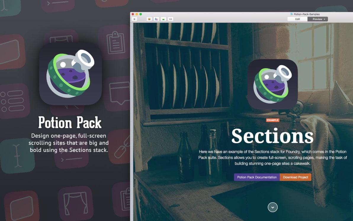 Potion Pack screenshot