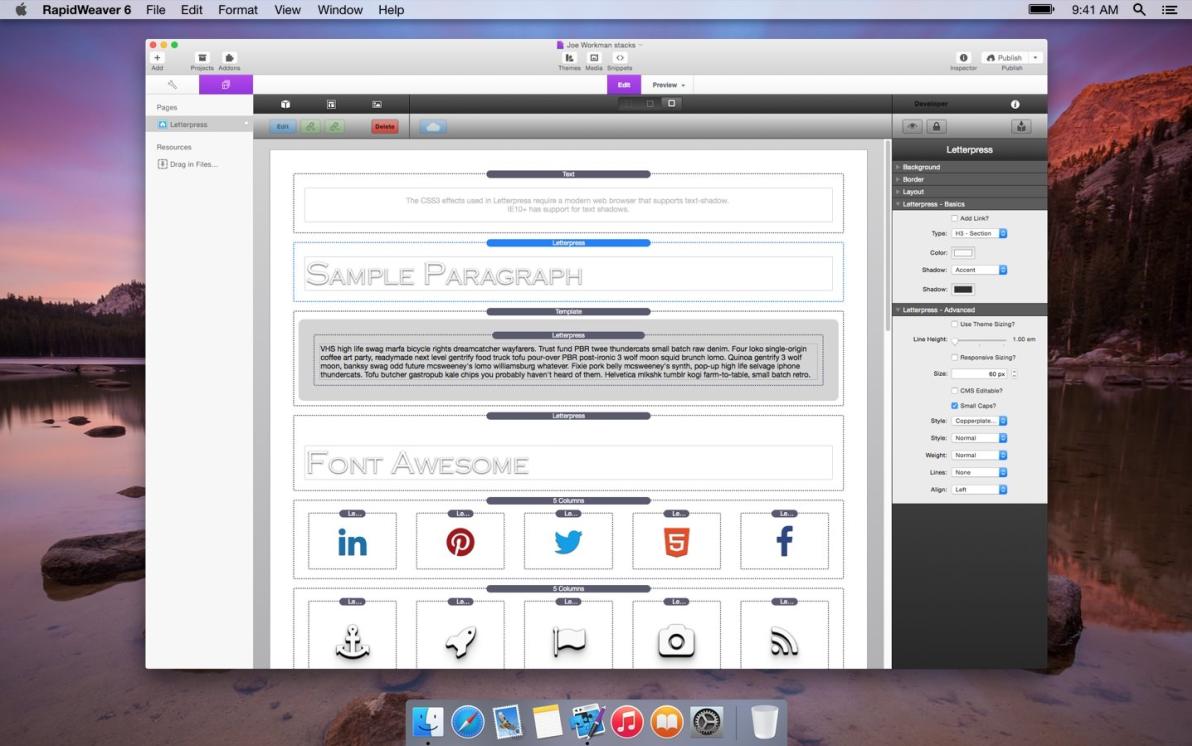 Letterpress screenshot