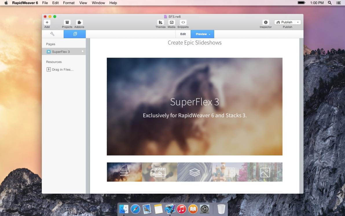 SuperFlex 3 screenshot