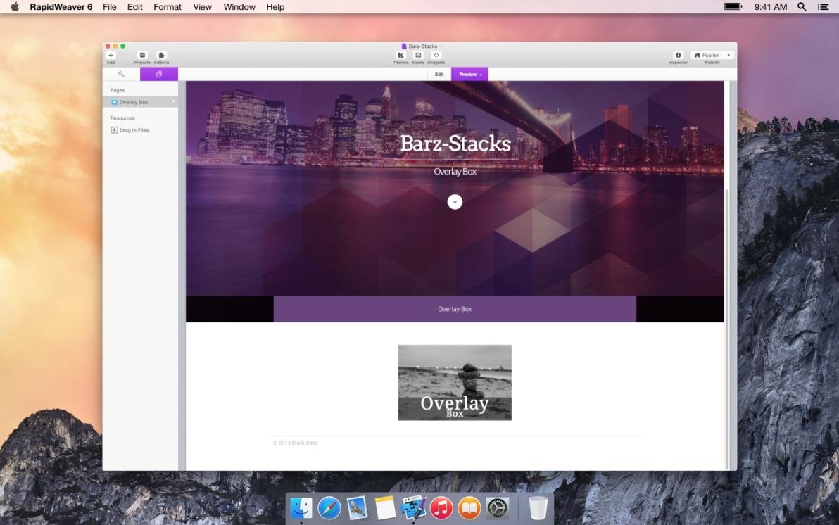 Overlay Box screenshot