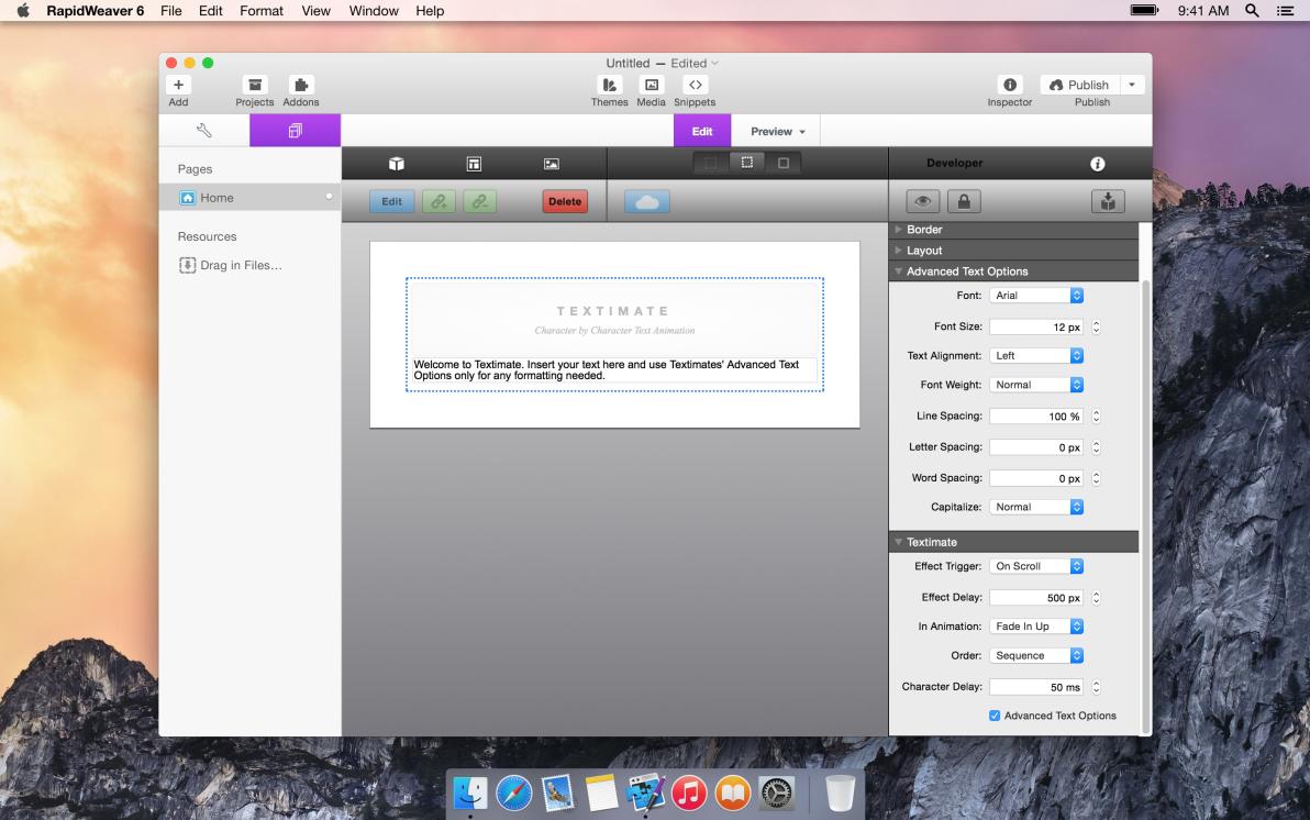 Textimate screenshot