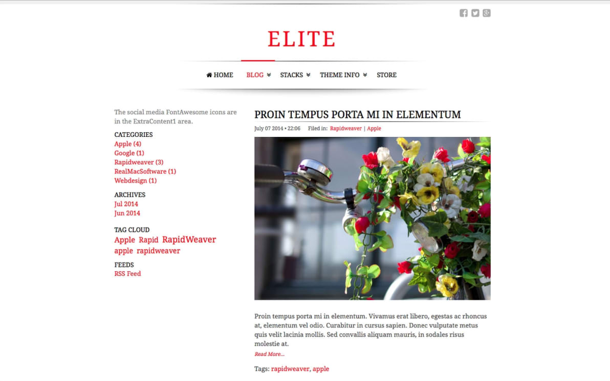 Elite screenshot