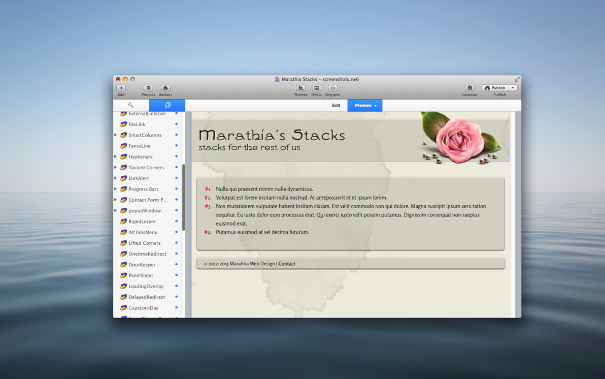 SmartList Stacks screenshot