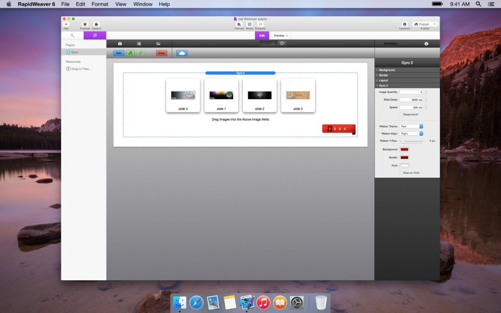 Gyro screenshot