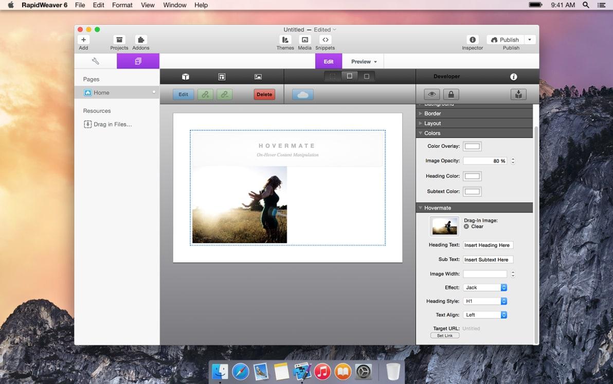 Hovermate screenshot
