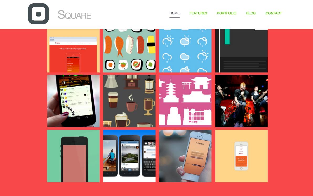 Square screenshot