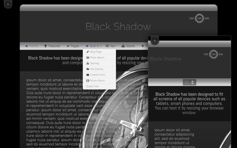 Black Shadow screenshot
