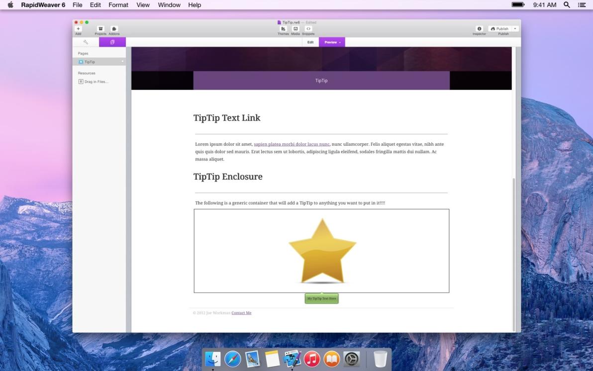 TipTip screenshot
